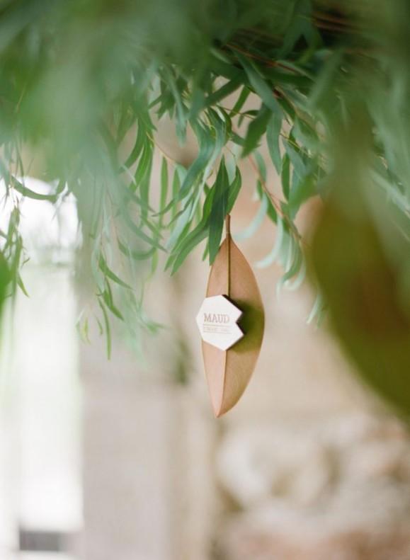 Gravure et découpe laser sur bois pour décoration de mariage